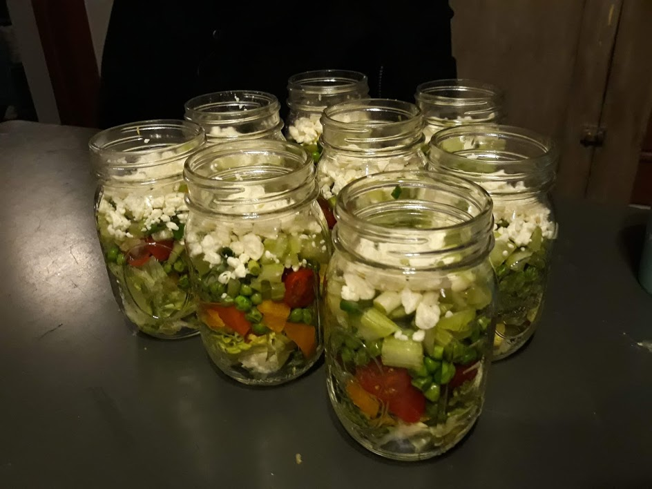 Veggie Plate in a Jar